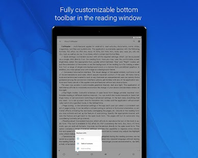 FullReader – e-book reader Screenshot