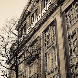 Architecture in Amsterdam by Antony Antoniou - Buildings & Architecture Architectural Detail ( holland, architectural detail, amsterdam, netherlands, architecture )