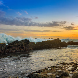 The Rock Wave by MazLoy Husada - Landscapes Beaches