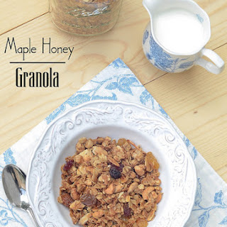 Maple Honey Granola