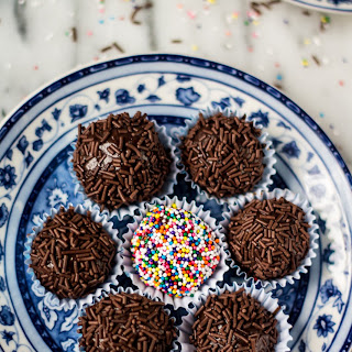 Traditional Brigadeiro (Brazilian Fudge Balls)
