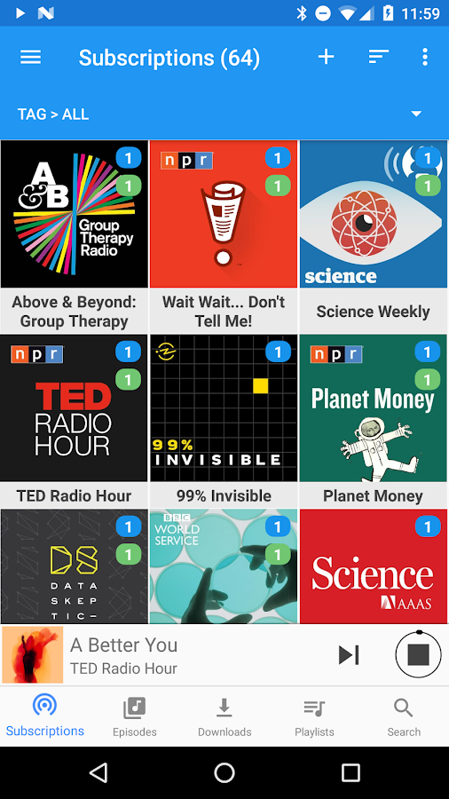 Podcast Republic - Podcast & Audiobook App Screenshot 0