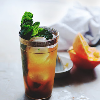 CITRUS POMEGRANATE MINT TEA