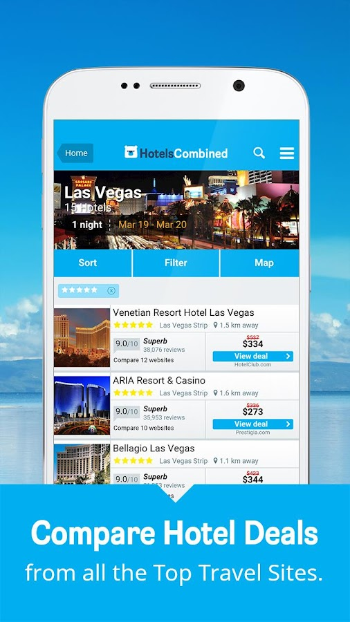 Hotels Combined: Search & Book Screenshot 2