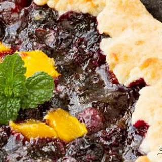 Blueberry Mango Cobbler