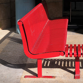 Red Bench by Koh Chip Whye - Artistic Objects Furniture