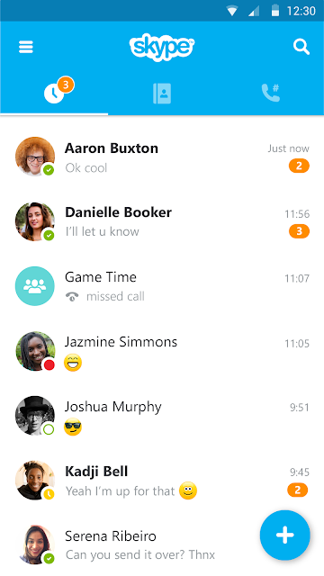 Skype - free IM & video calls screenshots