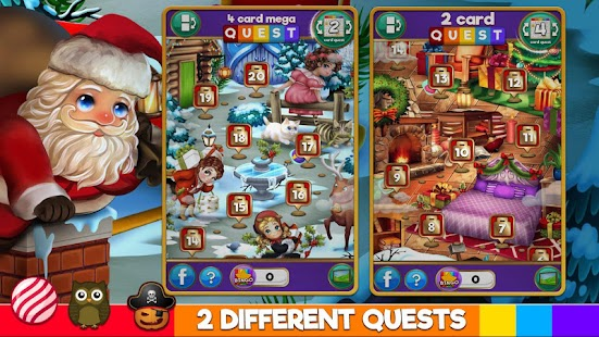 Bingo Xmas Holiday: Santa & Friends