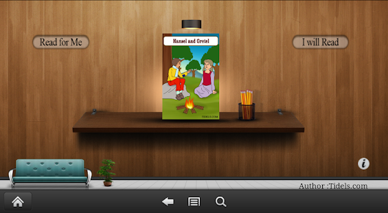 Hansel & Gretel - for Kids - screenshot