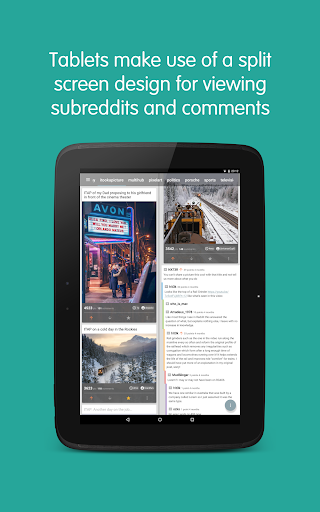 Now for Reddit - screenshot
