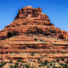 Belle Rock by Dave Walters - Landscapes Deserts ( red, mystical, nature, names, colors, spirtual, landscape, lumix fz2500, belle rock,  )