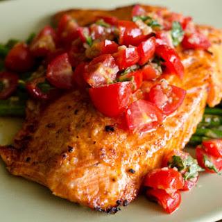 Salmon Asparagus Cherry Tomatoes Recipes