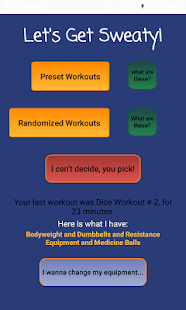 Get Sweaty Fitness app screenshot 1 for Android