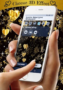 App Golden shine live wallpaper APK for Windows Phone