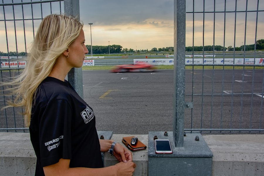 Waiting for you by Jiri Cetkovsky - Sports & Fitness Motorsports ( motorsport, race, waiting, car, girl )