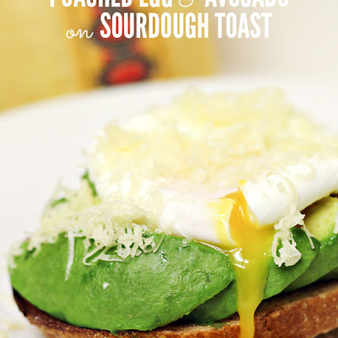 Poached Egg and Avocado on Sourdough Toast