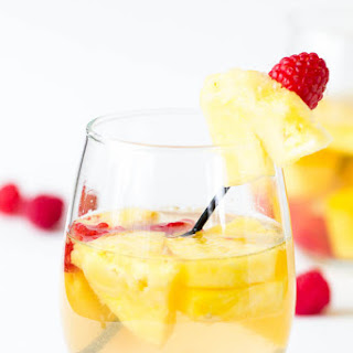 Pineapple Raspberry Sangria