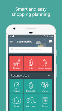 Bring! Shopping List APK screenshot thumbnail 1