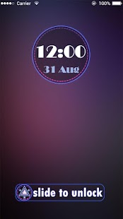Applock  Theme Night Light - screenshot