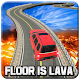 Impossible Prado Stunts on Lava Floor Tracks 3d