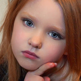Vay with Make-up by Cheryl Korotky - Babies & Children Child Portraits