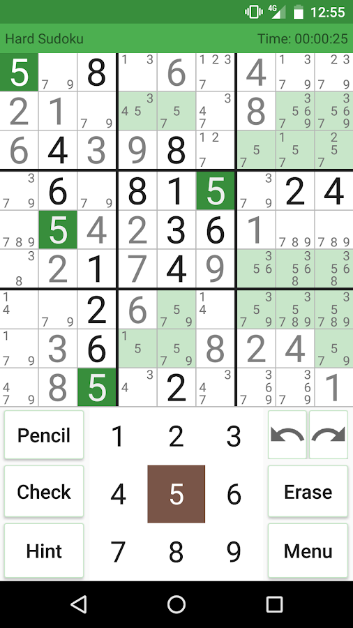 Supreme Sudoku Screenshot 1