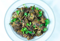 CHICKEN LIVER FRY - EASY AND SPICY