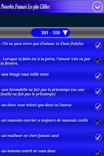 Proverbes Français - screenshot