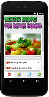 Healthy Recipes-Better Health - screenshot