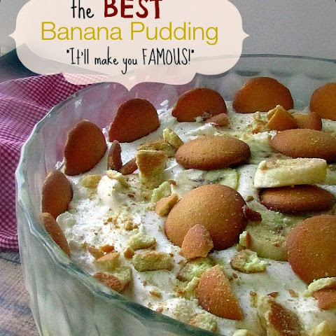The BEST Vanilla Wafer Banana Pudding Recipe!