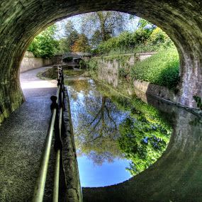 Kennet and Avon Canal by Steven Britton - Landscapes Waterscapes