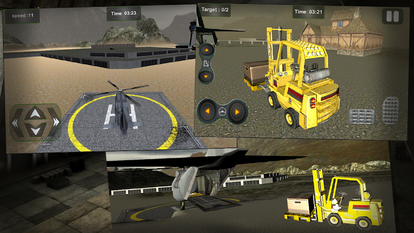 android Relief Cargo Helicopter Screenshot 4