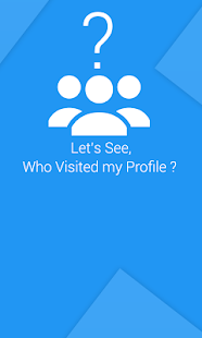 Who are checking my profile ? - screenshot