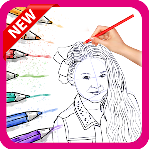 Draw and Coloring Jojo Siwa