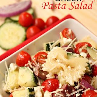 Bowtie Pasta Feta Cheese Cucumbers Recipes