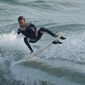 HB Surfer by Jose Matutina - Sports & Fitness Surfing ( orange county, surfer, california, huntington beach )