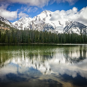 Mount Moran by John Spain - Instagram & Mobile iPhone ( wyoming, iphone )
