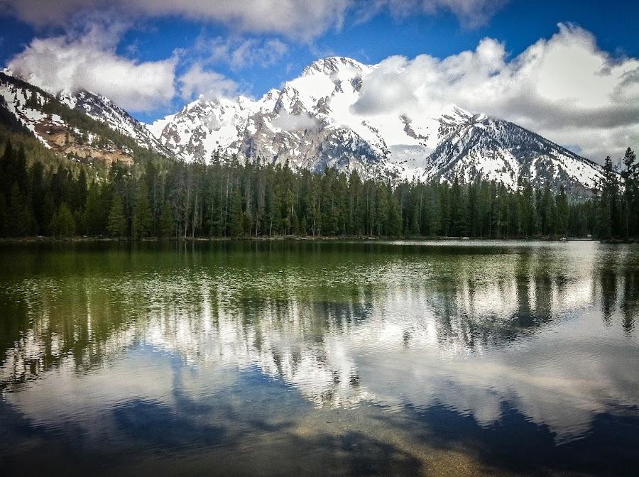 Mount Moran by John Spain - Instagram & Mobile iPhone ( wyoming, iphone )