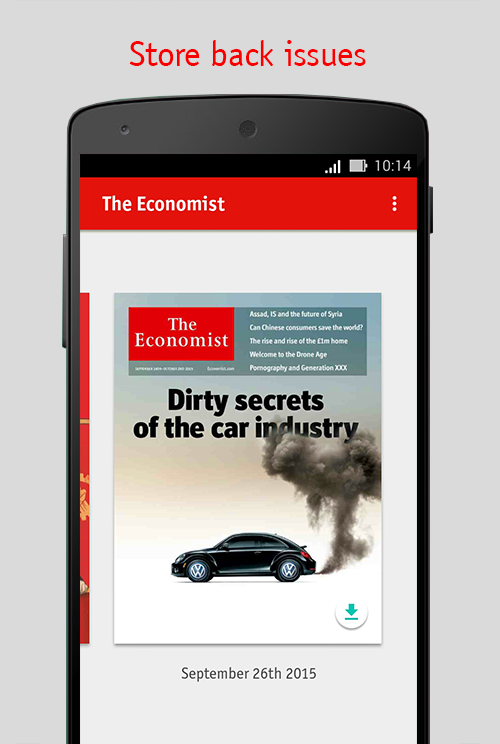 The Economist Screenshot 4