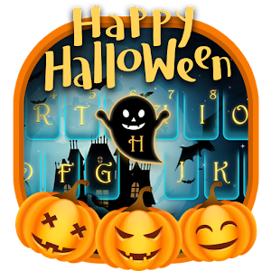 Happy Halloween Keyborad Theme For PC (Windows & MAC)