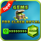 ?? Gems For Clash Royale Prank Icon