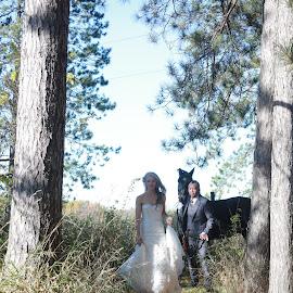 Journey  by Anthony Martinez - Wedding Bride & Groom ( wedding, bride and groom, marriage )