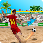 Shoot Goal Beach Soccer