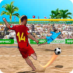 Game Shoot Goal Beach Soccer APK for Windows Phone