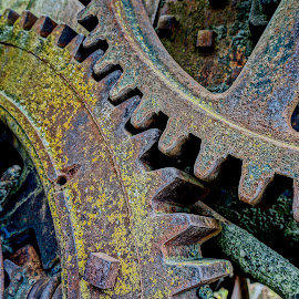 Grinding Gears by Barbara Brock - Artistic Objects Industrial Objects ( machinery, equipment, gears )