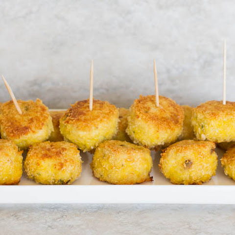 Parmesan Crusted Chicken Meatballs