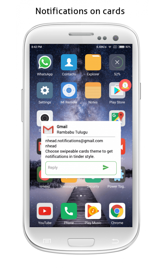 nBubble Pro - Notifications in bubble Screenshot 2