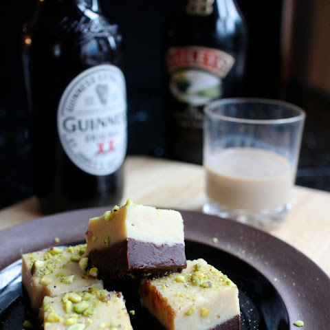 Baileys & Guinness Fudge