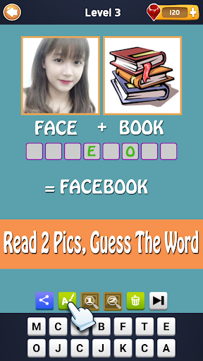 2 Pics 1 Word - Fun Word Guessing Game - Pics Quiz For PC