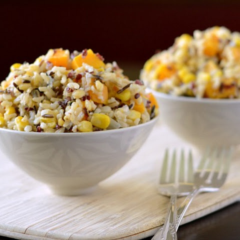 {Recipe Redux} Wild Rice With Roasted Butternut Squash